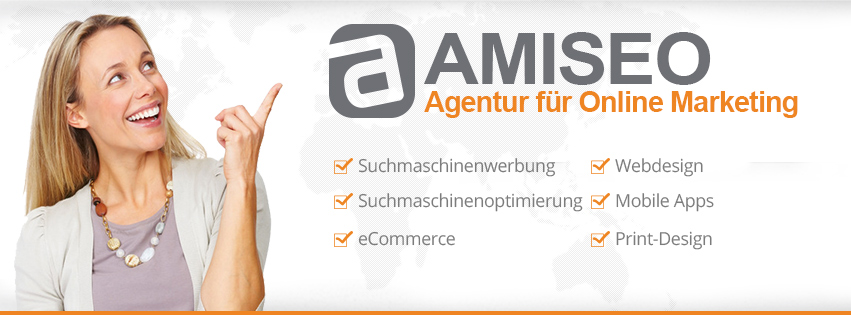 AMISEO Online Marketing, Adwords, Webdesign & Programmierungen